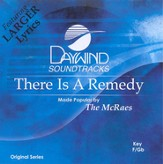 There Is a Remedy, Accompaniment CD