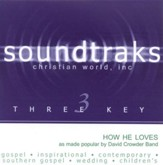 How He Loves, Accompaniment CD