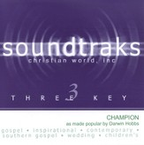 Champion, Accompaniment CD