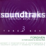 Forgiven, Accompaniment CD