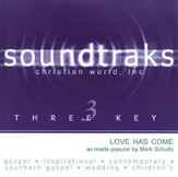 Love Has Come, Accompaniment CD