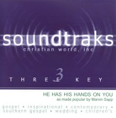 He Has His Hands On You, Accompaniment CD