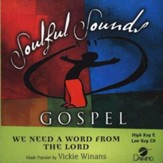 We Need a Word from the Lord, Accompaniment CD
