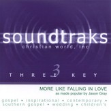 More Like Falling In Love, Accompaniment CD