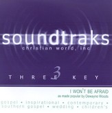 I Won't Be Afraid, Accompaniment CD