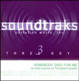 Somebody Died For Me, Accompaniment CD