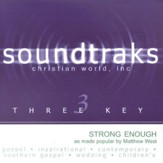 Strong Enough, Accompaniment CD