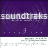 Heaven On Earth, Accompaniment CD