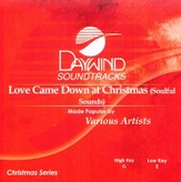 Love Came Down at Christmas, Accompaniment CD
