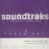 When He Saved Me, Accompaniment CD