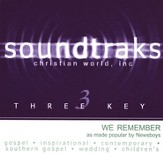 We Remember, Accompaniment CD