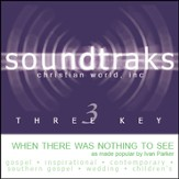 When There Was Nothing To See, Accompaniment CD