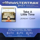 Take A Little Time (Low Key-Premiere Performance Plus w/o Background Vocals) [Music Download]