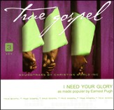 I Need Your Glory, Accompaniment CD