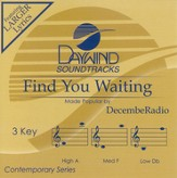 Find You Waiting, Accompaniment CD