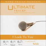 I Look To You (Medium Key Performance Track w/o Background Vocals) [Music Download]