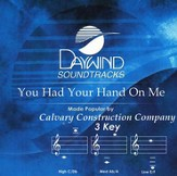 You Had Your Hand On Me, Accompaniment CD