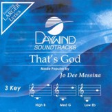 That's God, Accompaniment CD