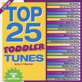 Top 25 Toddler Tunes--Split-Track CD