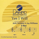Yes I Will, Accompaniment CD