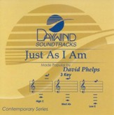 Just As I Am, Accompaniment CD