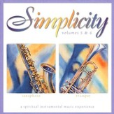 Simplicity Volumes 5 & 6: Saxophone/Trumpet CD