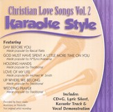 Christian Love Songs, Volume 2, Karaoke Style CD