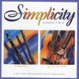 Simplicity Volumes 7 & 8: Woodwinds/Guitar & Violin CD
