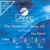 The Maker Of Them All, Accompaniment CD