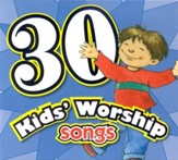 30 Kids' Worship Songs CD