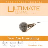 You Are Everything - Low Key Performance Track w/ Background Vocals [Music Download]