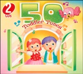 50 Toddler Tunes (2 Disc Set)
