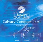 Calvary Conquers It All, Accompaniment CD