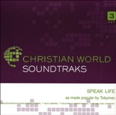 Speak Life Acc, CD