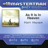As It Is In Heaven, Accompaniment CD