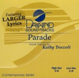 Parade, Accompaniment CD