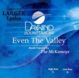 Even the Valley, Accompaniment CD