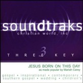 Jesus Born On This Day, Accompaniment CD