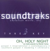 Oh Holy Night, Accompaniment CD