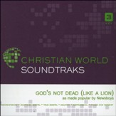 God's Not Dead (Like a Lion), Accompaniment CD