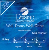 Well Done, Well Done [Music Download]