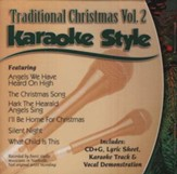 Traditional Christmas, Volume 2, Karaoke Style CD