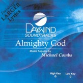 Almighty God, Accompaniment CD