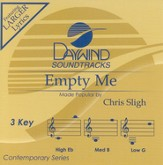 Empty Me, Accompaniment CD