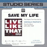 Save My Life (Low Key Track without Background Vocals) [Music Download]