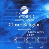 Closet Religion, Accompaniment CD