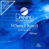 When I Knelt, Accompaniment CD