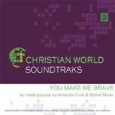 You Make Me Brave, Accompaniment CD