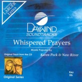 Whispered Prayers, Accompaniment CD