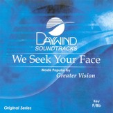 We Seek Your Face, Accompaniment CD